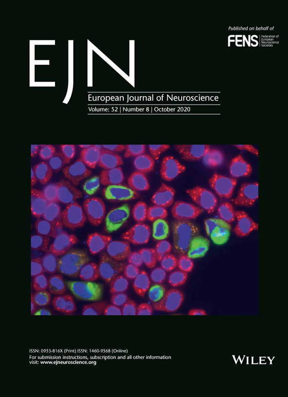 An examples cover of European Journal of Neuroscience