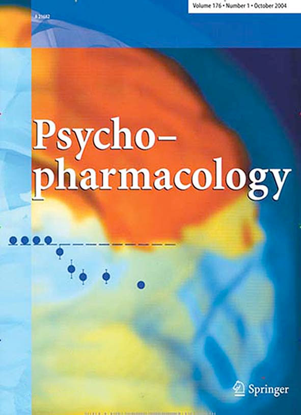 An examples cover of Psychopharmacology
